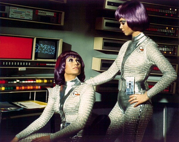 Can you picture Cameron, Sarah, Lisa & Naomi in these moonbase outfits?